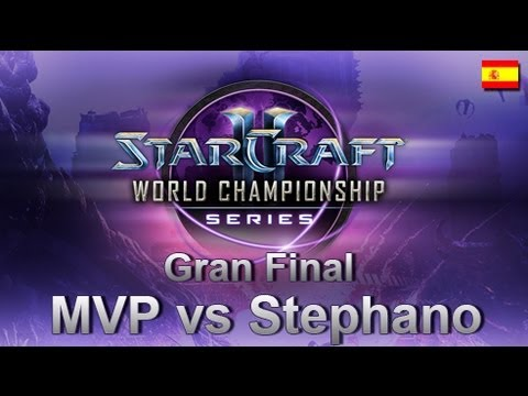 WCS EU - Gran Final - MVP vs Stephano - Starcraft II en español