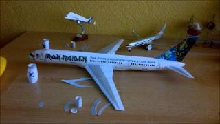 Video Iron Maiden Ed Force One Papercraft (Boeing 757 with Rolls Royce RB 211 engines) MP3, 3GP, MP4, WEBM, AVI, FLV Juni 2018