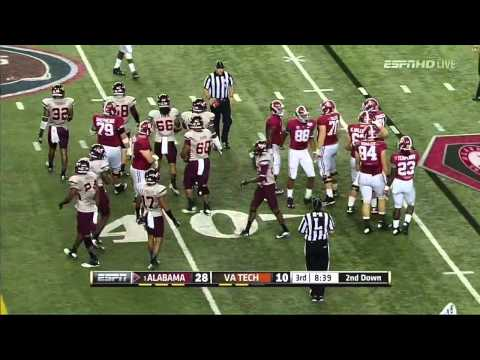 Ryan Kelly vs Virginia Tech (2013) video.