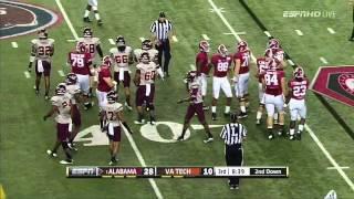 Cyrus Kouandjio vs Virginia Tech (2013)