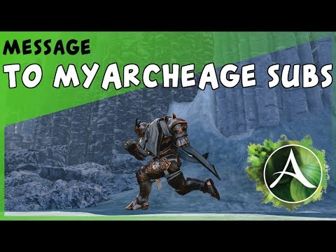 ArcheAge - Why I Won't Be Making So Many AA Videos In 2018 ( To My ArcheAge Subs)