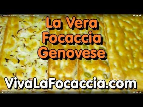 focaccia genovese - ricetta