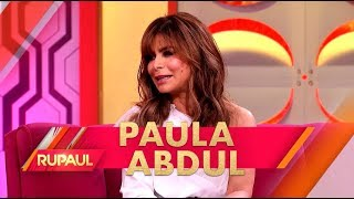 Video Paula Abdul and Adam Rippon Stop by 'RuPaul' MP3, 3GP, MP4, WEBM, AVI, FLV Juni 2019