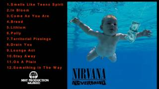 Nirvana Greatest hits collection 2017  Album Nevermind  Best songs of Nirvana in 2017.