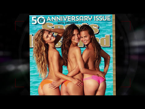 Sports Illustrated Reveals Three Topless Models on  2014 Swimsuit Cover