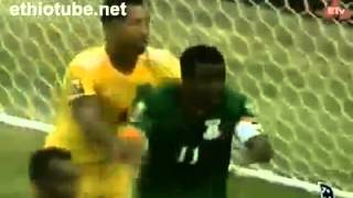 Tagel Seyfu   Ethiopian National Football Team   Wallya   South Africa   African Nations Cup   2013