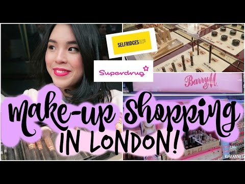 Come Makeup Shopping with Me in LONDON!