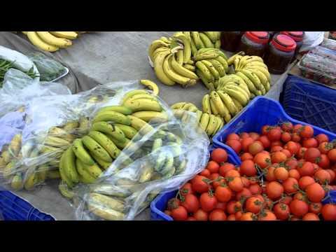 Kalkan  Fruit and Veg  Market Video Tour