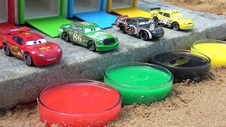 Learn Colors With Cars 3 Toys for Children - Disney Pixar Lightning McQueen and Friends for Kids