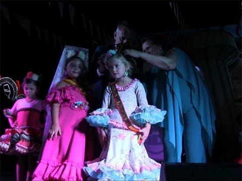 Coronación Reina Infantil Fiestas San Francisco de Asís 2019.