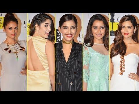 Hot Women At The Grazia Young Fashion Awards 2014