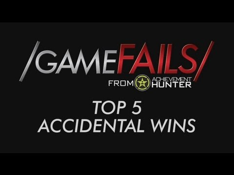 ray - Check out all these lucky wins! For more Game Fails visit http://www.youtube.com/gamefails Got something funnier? Submit your clips now at http://ahuploads.c...