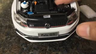 Unboxing of Mini Volkswagen POLO 1/18 Diecast