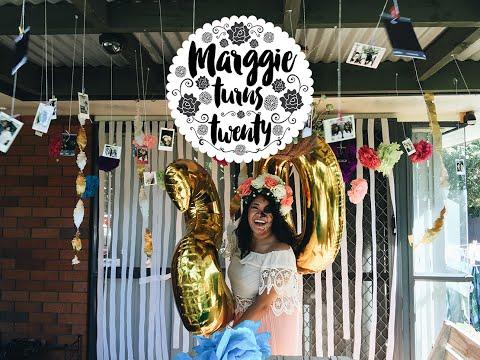 Marggie Turns Twenty | Dia De Los Muertos