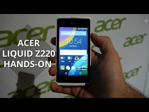 Acer Liquid Z220 hands-on