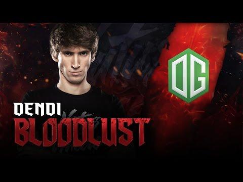 BLOODLUST: Dendi on Windranger vs OG @ DreamLeague S5