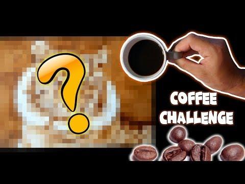 EL RETO DE DIBUJAR CON CAFÉ  COFFEE CHALLENGE  ArteMaster