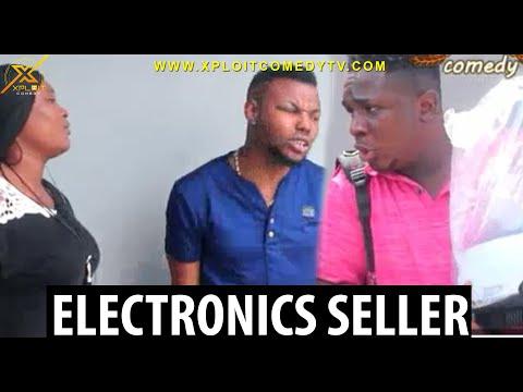 The Electronics seller 😂😂 (Xploit Comedy)