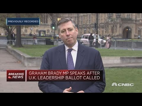 Graham Brady Speaks After No-confidence Vote In May Triggered | Squawk Box Europe
