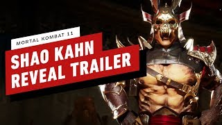 Mortal Kombat 11 - Shao Kahn Gameplay Reveal Trailer by IGN