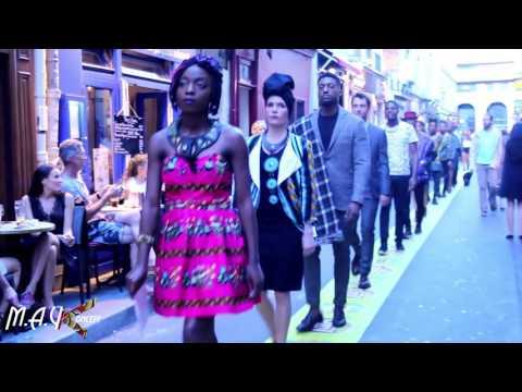 MAYKONCEPT FASHION STREET ART (l'Afrique C'est CHIC) défilé 2016
