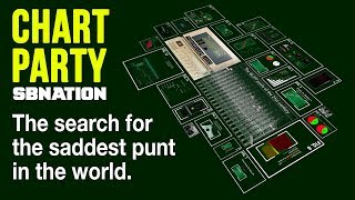 The search for the saddest punt in the world   Chart Party by SB Nation