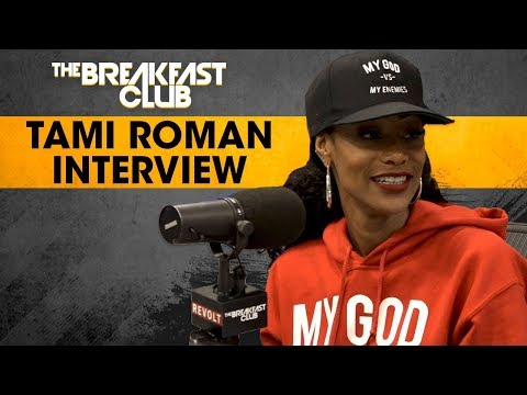 Tami Roman Talks About How She Fell Into Stand-Up Comedy, Basketball Wives Drama + More