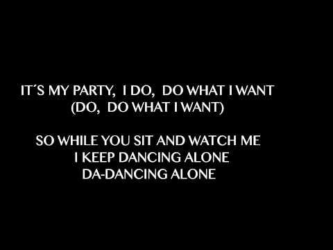 Jessie J - It´s My Party (Lyrics)