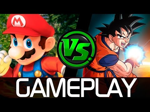 ¿¡GOKÚ v.s. MARIO en SUPER SMASH BROS!? | ✤ Super Smash Flash 2 v0.9b ✤
