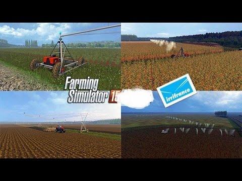 Pivot irrigation v1.0.0