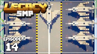Legacy SMP - INSANELY FAST AUTOMATIC BEE FARMS! (Minecraft 1.15 Survival)