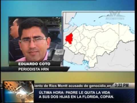 TVC La Tarde- Por celos, hondureño quien tenía intimidad con sus dos hijas las mató y  se suicidó