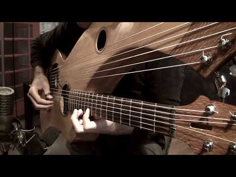 , title : 'A Nightmare on Elm Street (1984) / 28 Days Later - Theme - Harp Guitar Cover'