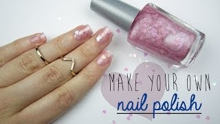 Make Your Own Nail Polish! - YouTube