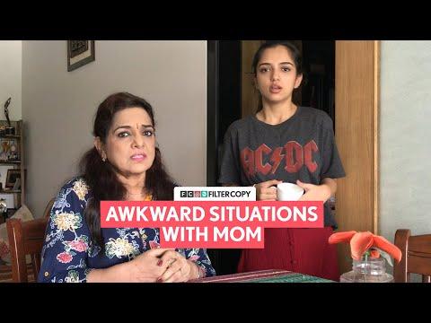 FilterCopy | Awkward Situations With Mom | Ft. Ahsaas Channa and Kulbir Kaur