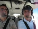 Cirrus SR22 - Jeff and Dwight in the Cirrus