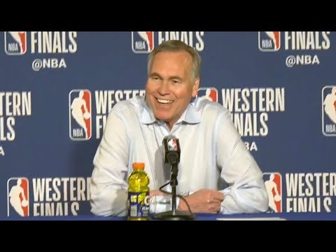 Mike D'Antoni Postgame Interview - Game 6 | Rockets Vs Warriors | 2018 NBA West Finals