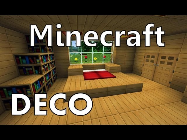 minecraft comment cr er une belle chambre. Black Bedroom Furniture Sets. Home Design Ideas