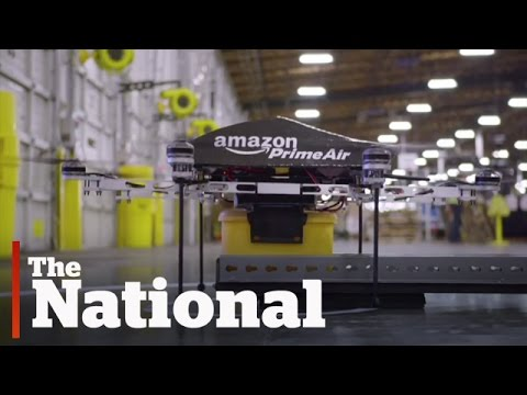 Amazon - Amazon.com Inc. is testing drones that it hopes will soon deliver packages to customers.