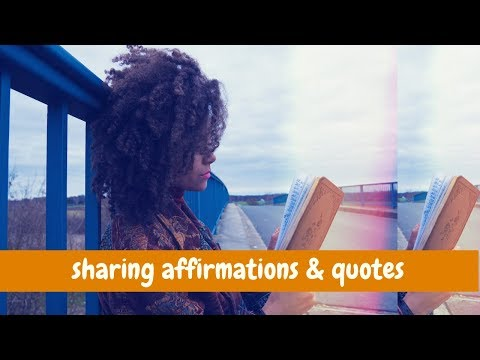 Thank you quotes - sharing affirmations & quotes from my journal
