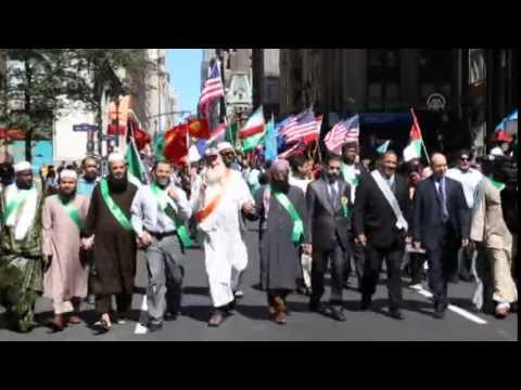 New York'da Müslüman Günü Yürüyüşü
