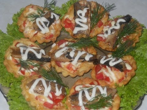 тарталетки рецепты начинок фото праздничный