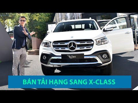 Lần đầu tiên khám phá chiếc xe bán tải hạng sang Mercedes X-Class @ vcloz.com