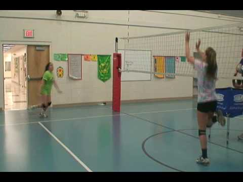 Doogan - Volleyball skill set video of Siobhan Doogan of the Delaware Juniors VBC and Ursuline Academy in Wilmington, DE.