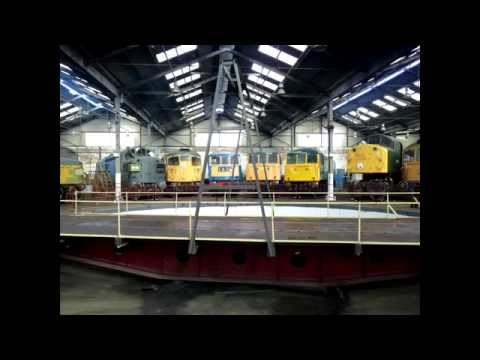 A visit to Barrow Hill Roundhouse 16th March 2014