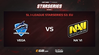 Vega Squadron vs Natus Vincere, Game 2, SL i-League StarSeries Season 3, EU