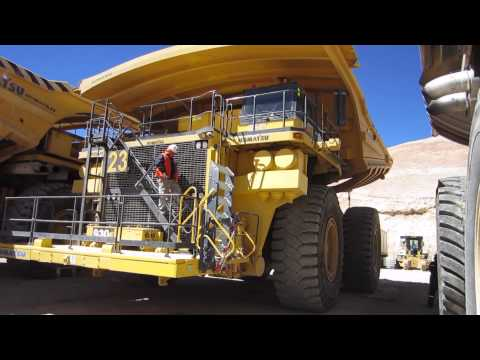 Komatsu Haul Truck Access System by Power Step