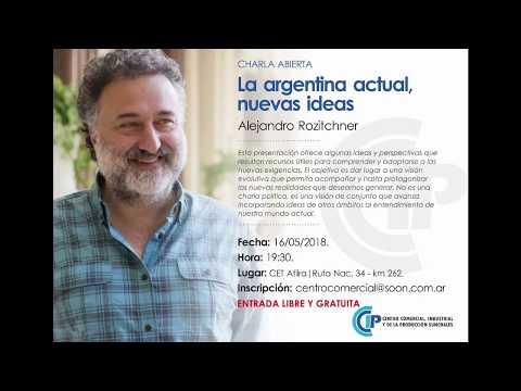 charla abierta Alejandro Rozitchner