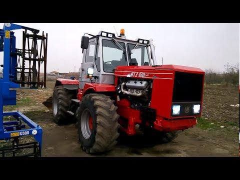 смотреть видео как управлять тракторами т-150 мтз того
