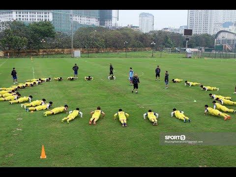 Thầy Park cho ĐT U23 Việt Nam tập luyện như nhảy Disco - Thời lượng: 10:15.